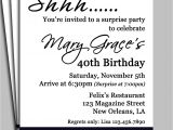 Surprise 60th Birthday Invitation Sayings Black Damask Surprise Party Invitation Printable or Printed