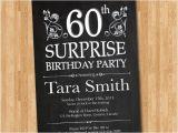 Surprise 60th Birthday Invitation Wording Samples 15 Surprise Birthday Invitations Free Psd Vector Eps