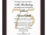 Surprise 75th Birthday Invitation Templates 75th Birthday Invitation 75th Birthday Invitations 75th