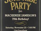 Surprise 75th Birthday Invitations Wording 75th Birthday Invitations 50 Gorgeous 75th Party Invites