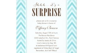 Surprise Baby Shower Invite Surprise Baby Shower Invitations Zazzle Com