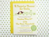 Surprise Baby Shower Invite Things I Make and Stuff I Like Surprise Baby Shower