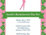 Surprise Bachelorette Party Invitations Golf Party Golf Invite Bachelorette Party Bridal Shower