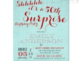 Surprise Birthday Invitation Templates Free Download Party Invitation Templates 50th Surprise Party Invitations