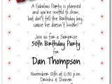Surprise Birthday Invitation Wording 8 Best Of Surprise 50th Birthday Invitations