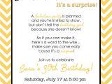 Surprise Birthday Invitation Wording Wording for Surprise Birthday Party Invitations