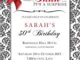 Surprise Birthday Invitations Uk Personalised Birthday Party Invites Surprise Invitations