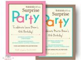 Surprise Birthday Party Invitations Templates Free Download 26 Surprise Birthday Invitation Templates Free Sample
