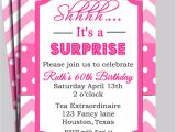 Surprise Bridal Shower Invitation Wording Chevron Invitation Printable or Free Shipping You Pick