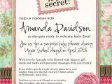 Surprise Bridal Shower Invitation Wording Surprise Baby Shower Invitation Wording