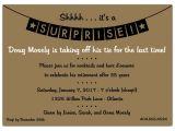 Surprise Graduation Party Invitation Wording Surprise Retirement Party Invitation Wording