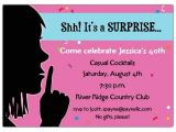 Surprise Graduation Party Invitations Keep It Quiet Surprise Invitations Paperstyle