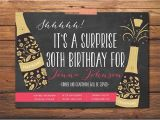 Surprise Party Invitation Template 17 Outstanding Surprise Party Invitations & Designs