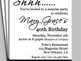 Surprise Party Invitation Template Black Damask Surprise Party Invitation Printable or Printed