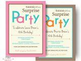 Surprise Party Invitation Templates 26 Surprise Birthday Invitation Templates Free Sample