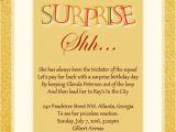 Surprise Party Invitation Templates Surprise Birthday Party Invitation Wording Wordings and