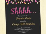 Surprise Party Invitations Ideas 50th Birthday Party Invitations Ideas A Birthday Cake