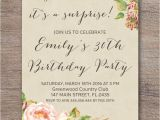 Surprise Party Invitations Ideas Diy Surprise Party Invitations Invitation Librarry