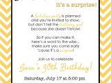 Surprise Party Invite Wording Wording for Surprise Birthday Party Invitations Drevio