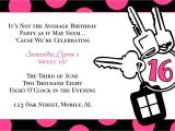 Sweet 16 Party Invitation Templates Free Free Templates for Birthday Invitations Drevio