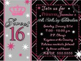 Sweet 16 Party Invitation Templates Free Party Invitations Best Sweet 16 Party Invitaions Sample