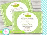 Sweet Pea Baby Shower Invitations Sweet Pea Baby Shower Invitation Digital File by
