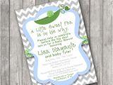 Sweet Pea Baby Shower Invitations Sweet Pea Pod Baby Shower Invitations Invite Printable
