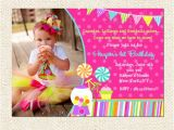 Sweet Shop Birthday Party Invitations Sweet Shoppe Birthday Invitations Lollipop Invitation Sweet