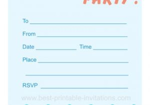 Swim Party Invites Blank Pool Party Ticket Invitation Template