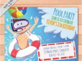 Swimming Party Invitation Template Free Free Party Invitation Free Premium Templates