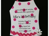 Swimsuit Party Invitations 10 Swimsuit Bathing Suit Birthday Invitations for Pool