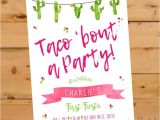 Taco Bout A Party Invitation 25 Best Ideas About Fiesta Invitations On Pinterest