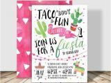 Taco Bout A Party Invitation Taco 39 Bout Fun Fiesta Birthday Party Invitation 5×7
