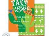 Taco Bout A Party Invitation Taco Bout Love Invitation Wedding Party Engagement Party