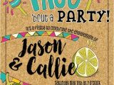 Taco Bout A Party Invitation Taco Fiesta Party Invitation Engagement Anniversary