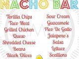 Taco Party Invitation Template Fiesta Taco Cinco De Mayo Taco Bar Nacho Bar Party