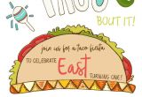 Taco Party Invitation Template Free Taco Invite East Blured Let 39 S Taco 39 Bout It It Party