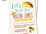 Taco Party Invitation Wording Fiesta Invitation Taco Party Invitation Fiesta Birthday