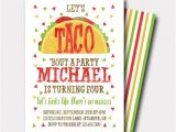 Taco Party Invitation Wording Taco Birthday Invitation Fiesta Birthday Invitation Fiesta