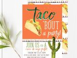Taco Party Invitation Wording Taco Party Fiesta Invitations Cinco De Mayo Invitations