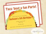 Taco Party Invitation Wording Taco Party Invitation