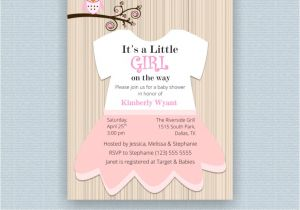 Target Baby Boy Shower Invitations Templates Baby Girl Shower Invitations at Tar with Tar