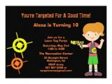 Target Birthday Party Invitations 76 Laser Tag Birthday Invitations Laser Tag Birthday