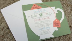 Tea Cup Bridal Shower Invitations Bridal Shower Tea Party Cup Invitation
