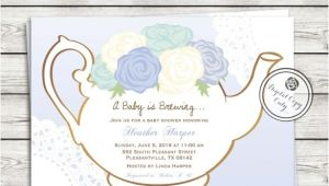 Tea Party Baby Shower Invitation Templates 41 Tea Party Invitation Templates Psd Ai Free