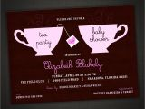 Tea Party Baby Shower Invites Tea Party Baby Shower Invitation Personalized by Idesignthat