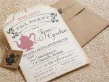 Tea Party Bridal Shower Invites Bridal Shower Tea Party Invitations Bridal Shower Tea