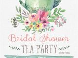 Tea Party Bridal Shower Invites Tea Party Bridal Shower Invitation Templates Party Xyz