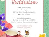 Tea Party Fundraiser Invitation High Tea Fundraiser Cancer Crusaders