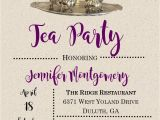 Tea Party Invitation Wording for Adults Tea Party Invitations for Adults and Children New